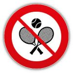 All tennis cancelled until further notice
